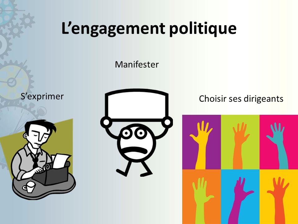 L'engagement politique