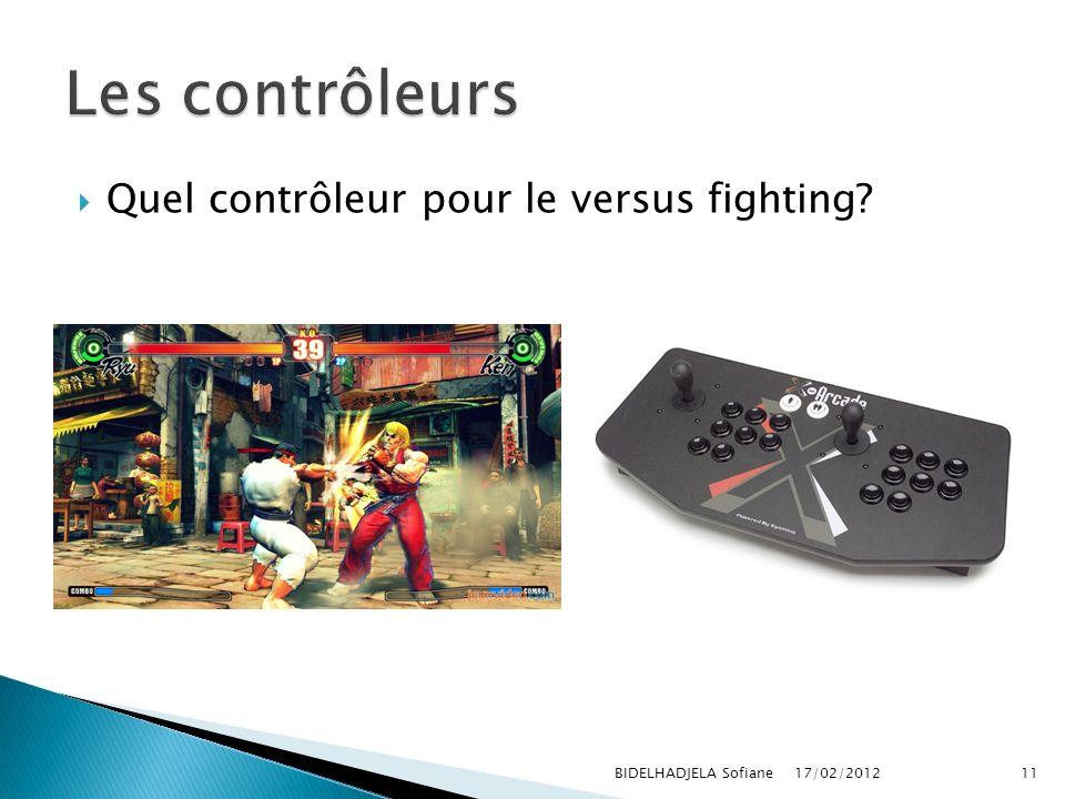 Les contrôleurs Quel contrôleur pour le versus fighting