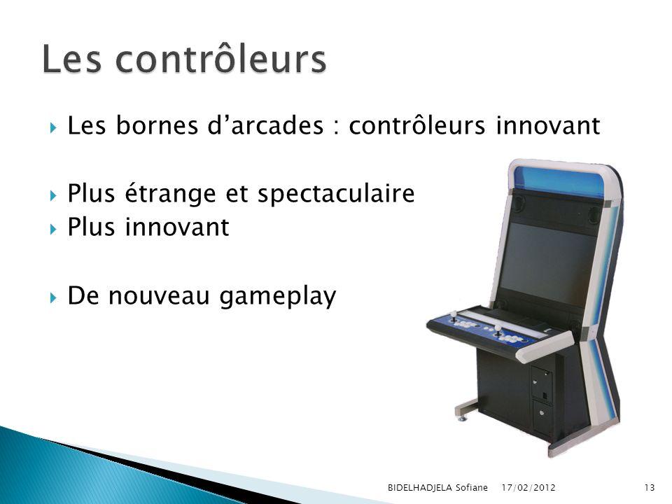 Les contrôleurs Les bornes d'arcades : contrôleurs innovant