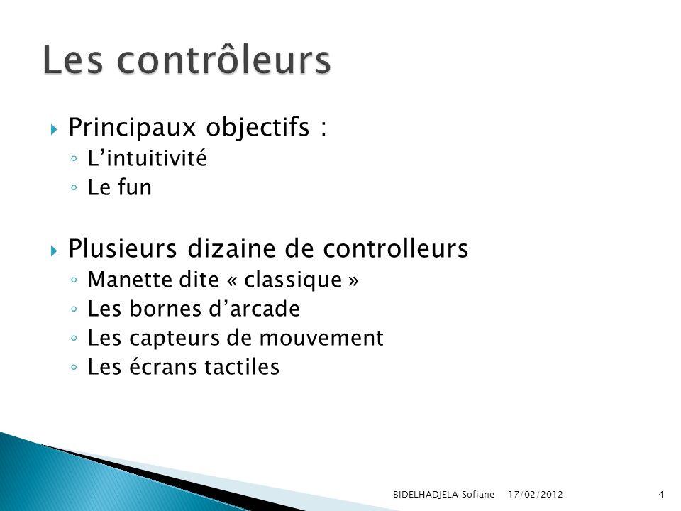 Les contrôleurs Principaux objectifs :