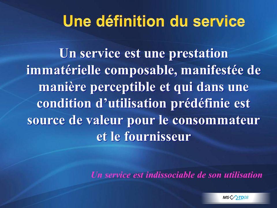Une définition du service