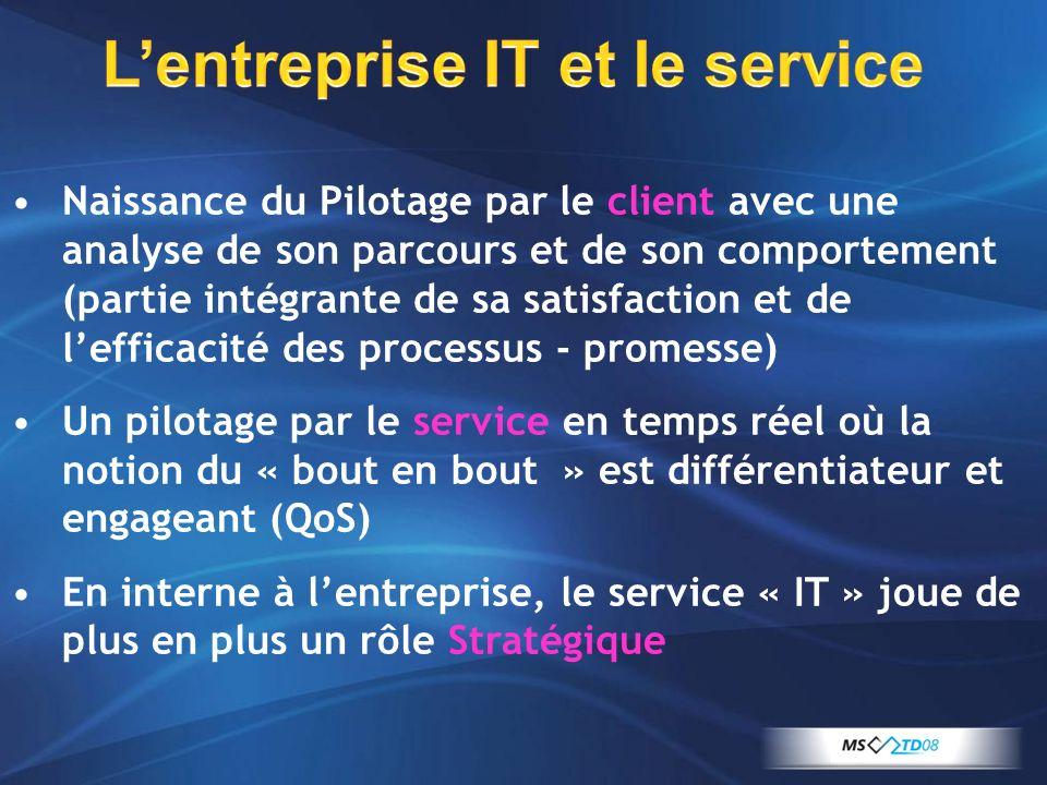 L'entreprise IT et le service