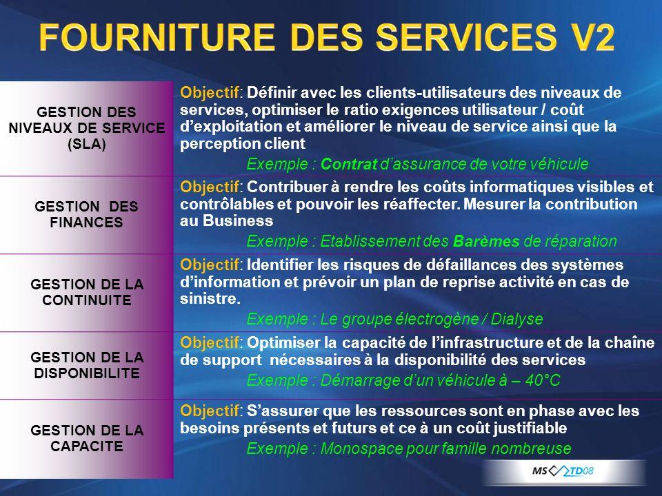 FOURNITURE DES SERVICES V2