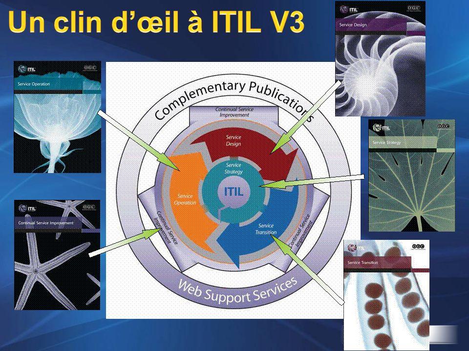 Un clin d'œil à ITIL V3 En tout il y a 40 ouvrages