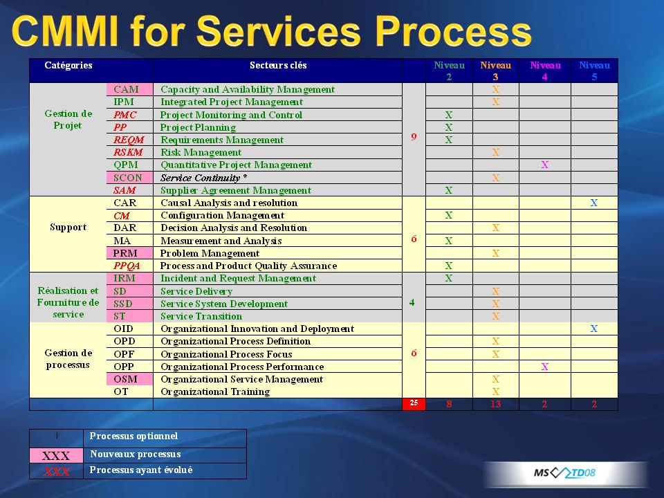 CMMI for Services Process