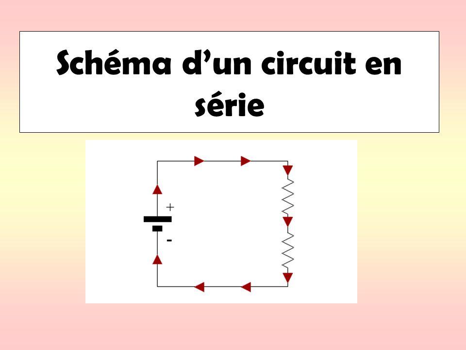 Schéma d'un circuit en série