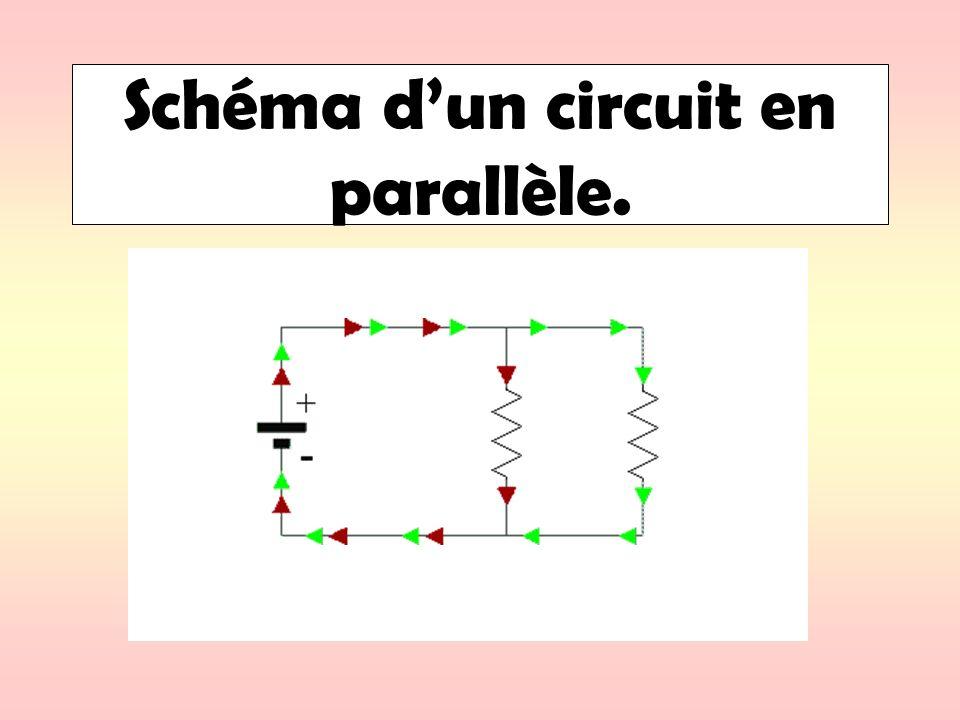 Schéma d'un circuit en parallèle.