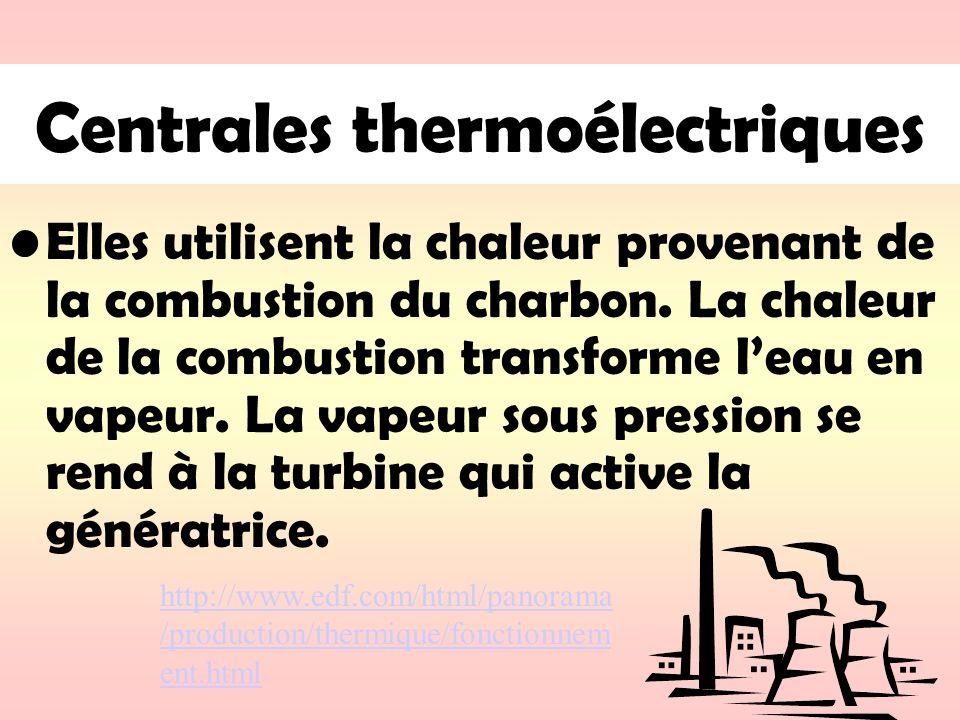 Centrales thermoélectriques