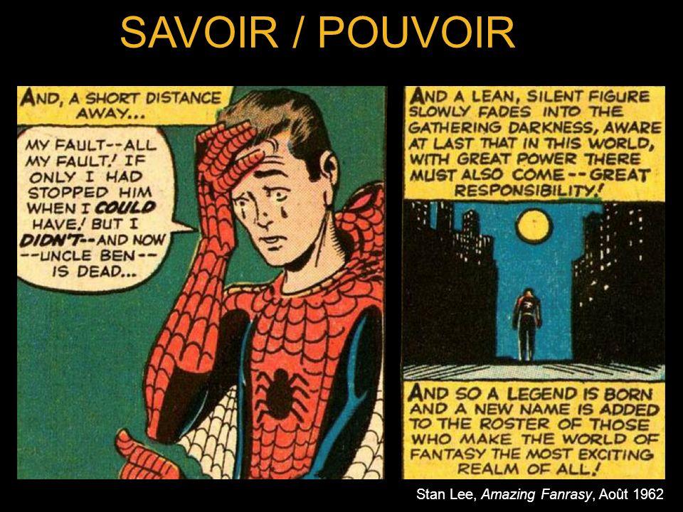 SAVOIR / POUVOIR Stan Lee, Amazing Fanrasy, Août 1962