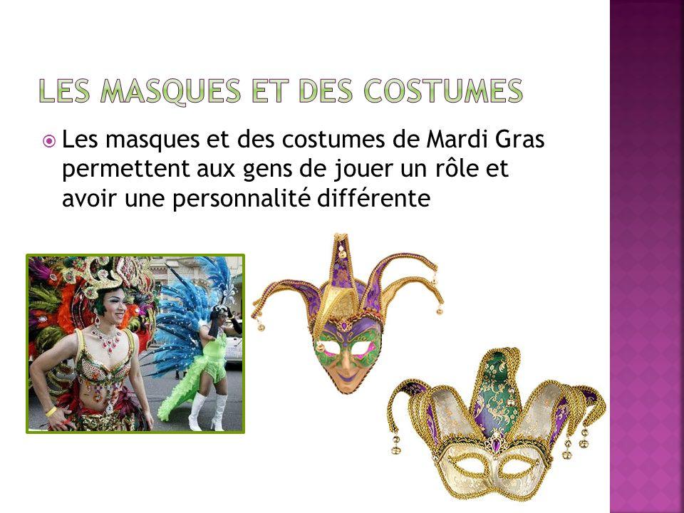Les masques et des costumes