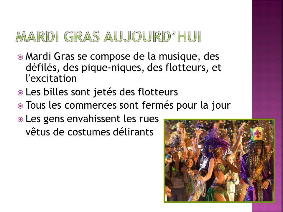 Mardi Gras Aujourd'hui