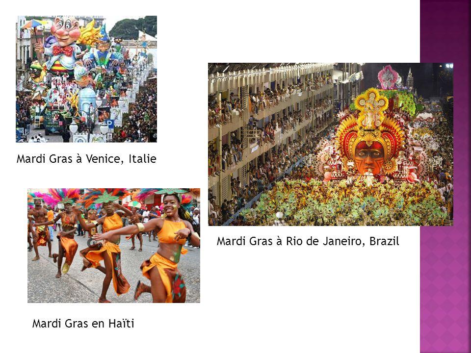 Mardi Gras à Venice, Italie
