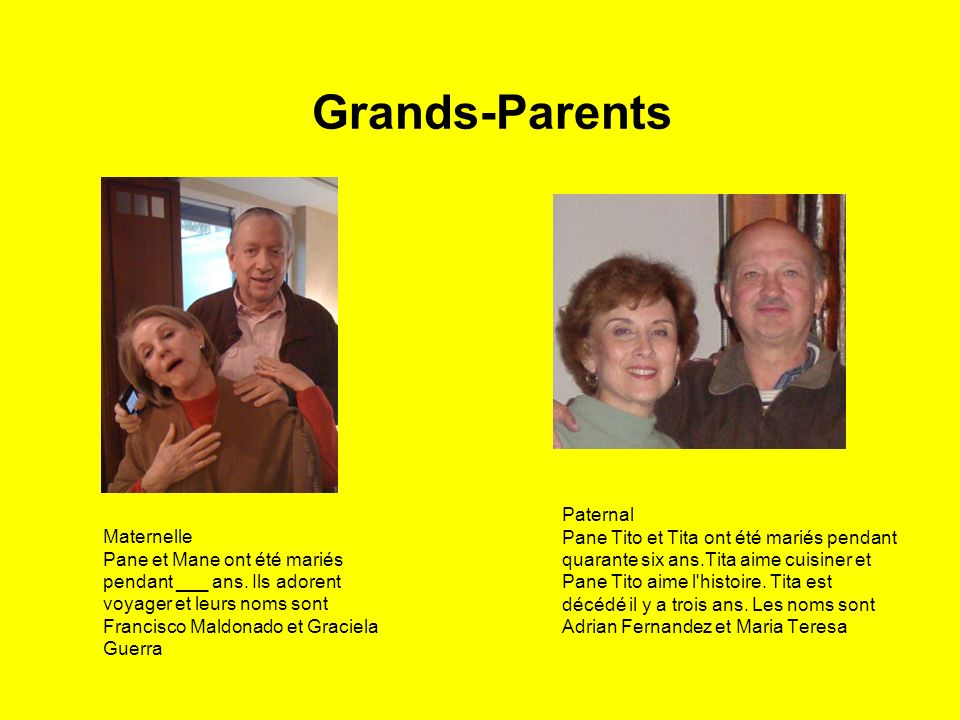 Grands-Parents Paternal