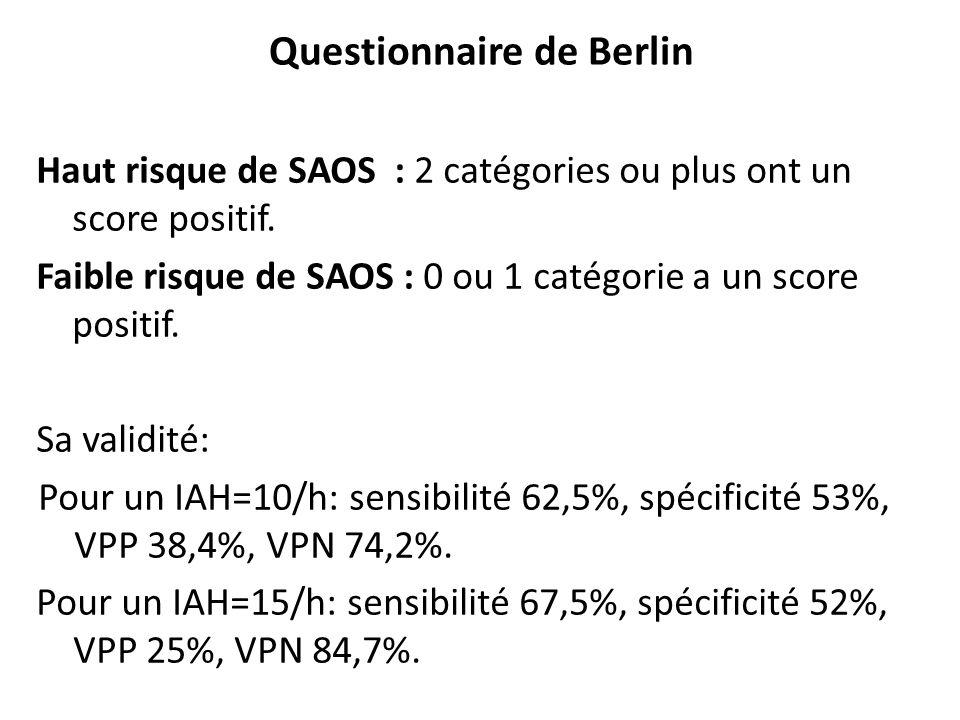 Questionnaire de Berlin