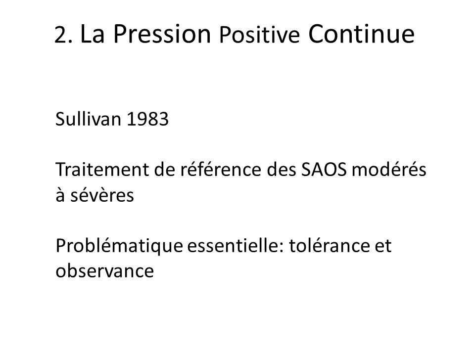 2. La Pression Positive Continue
