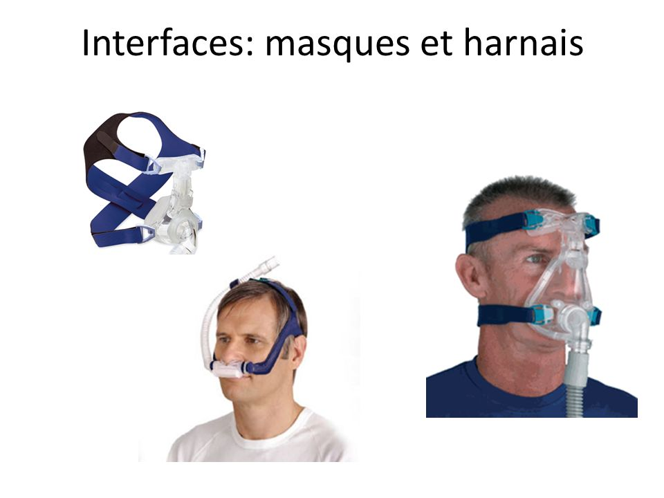 Interfaces: masques et harnais