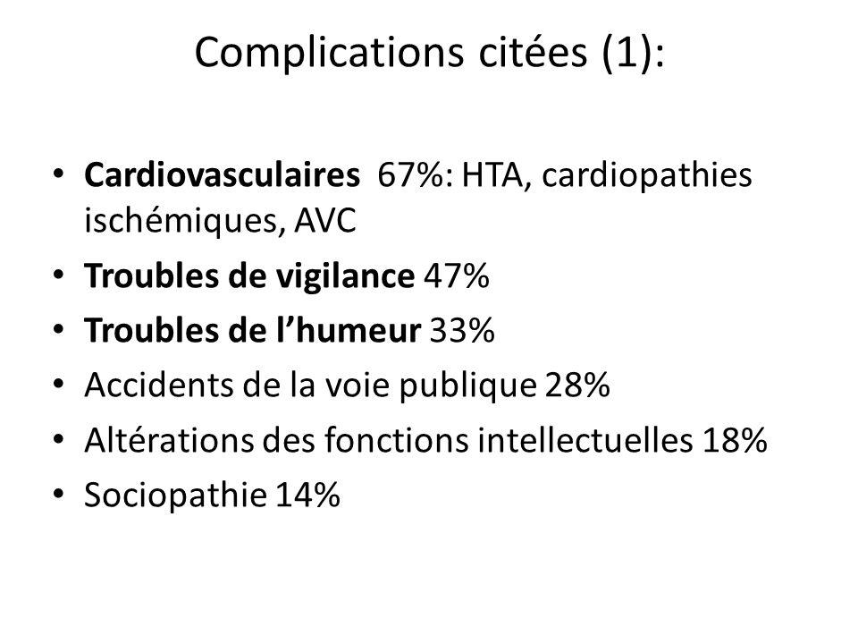 Complications citées (1):