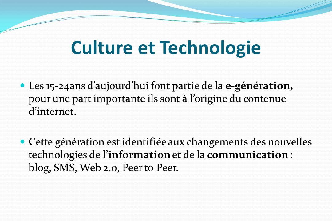 Culture et Technologie