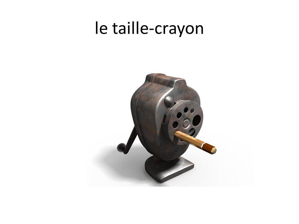 le taille-crayon