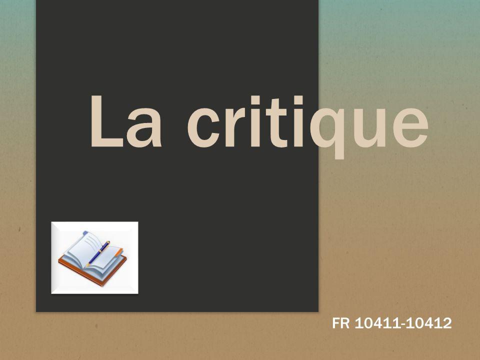 La critique FR 10411-10412