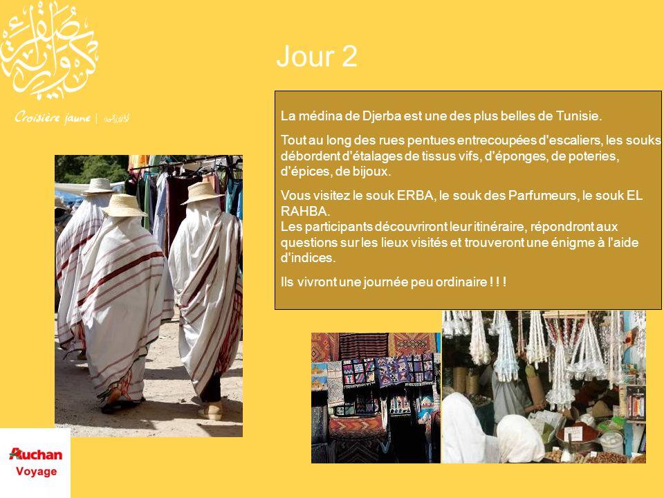 Jour 2 La médina de Djerba est une des plus belles de Tunisie.