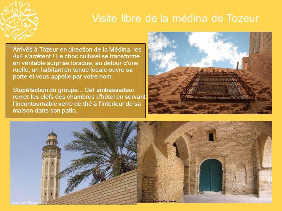 Visite libre de la médina de Tozeur