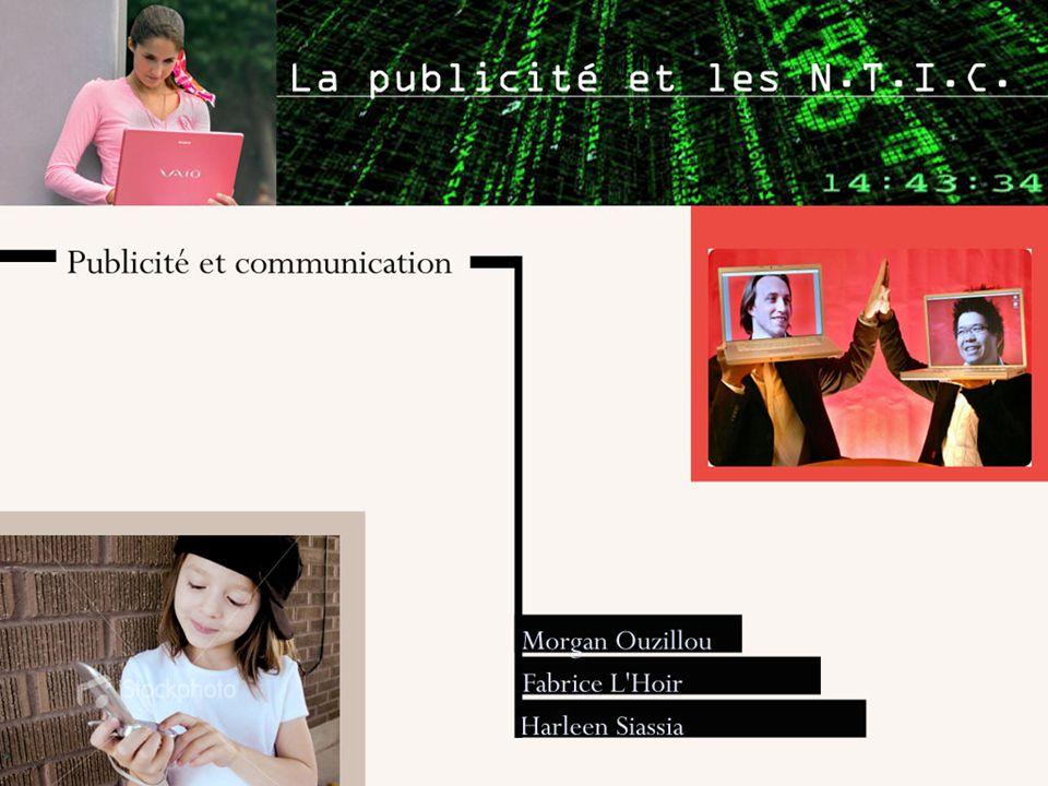 Définitions: les N.T.I.C désignent l'ensemble des nouvelles technologies liées à l'information et à la communication.