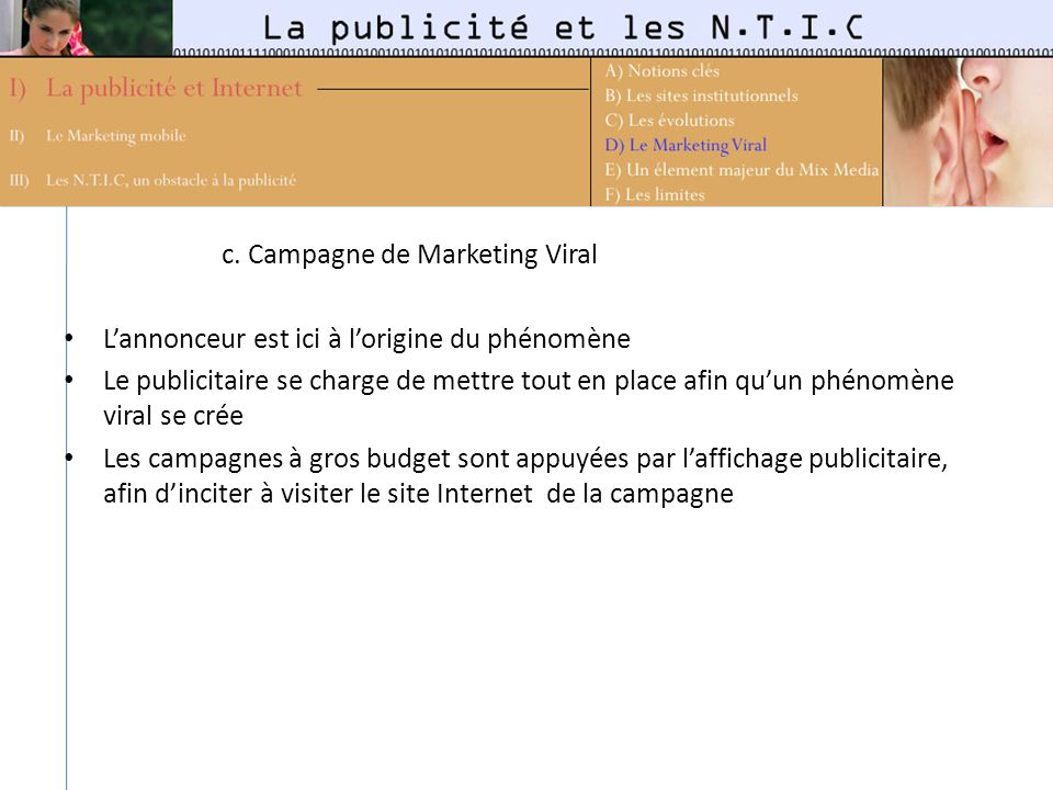 c. Campagne de Marketing Viral