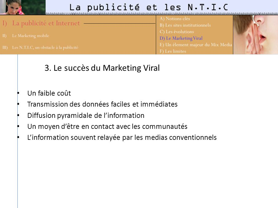 3. Le succès du Marketing Viral