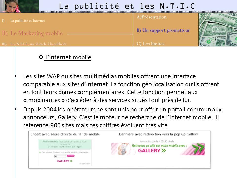L'internet mobile