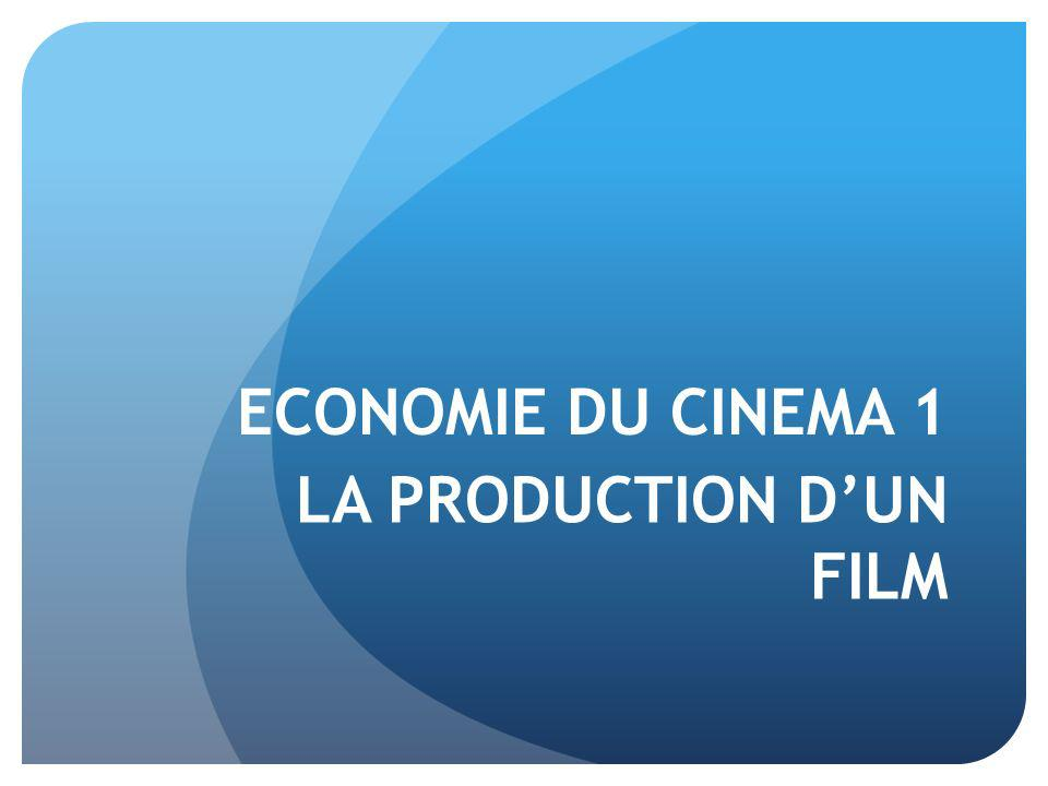 LA PRODUCTION D'UN FILM