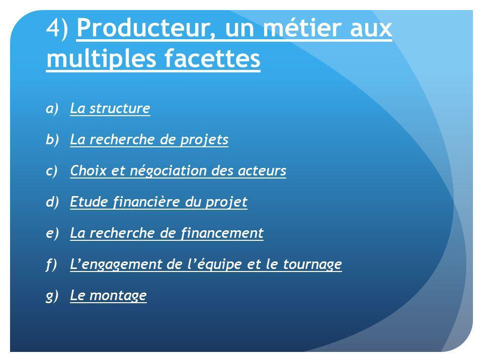 4) Producteur, un métier aux multiples facettes