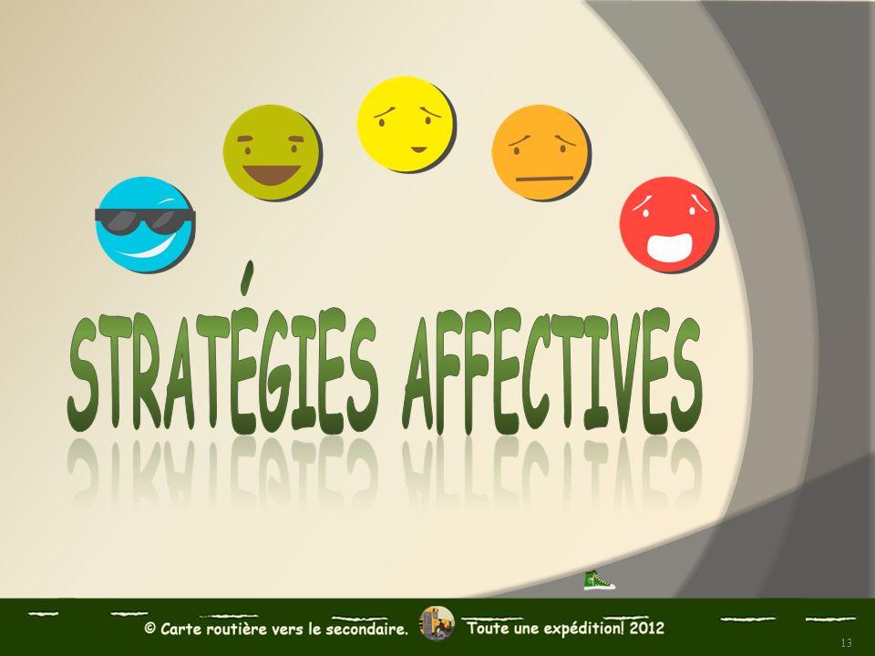 Stratégies affectives
