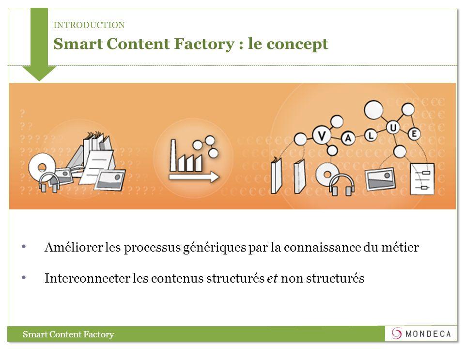 Smart Content Factory : le concept
