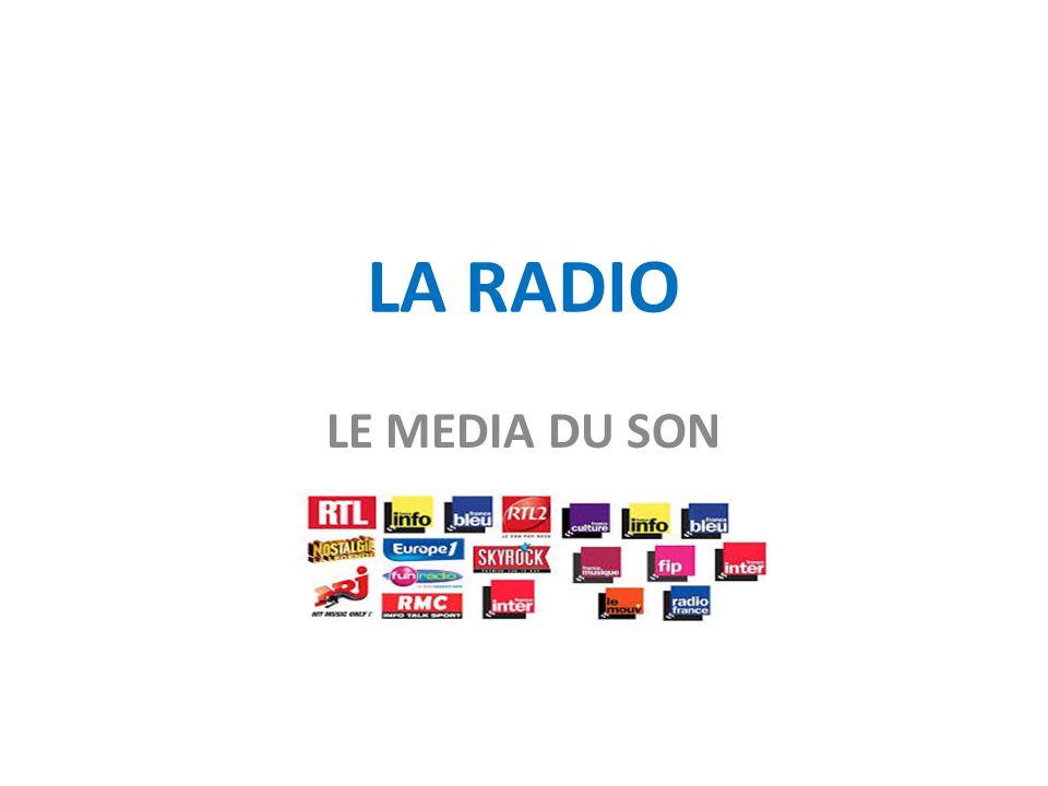 LA RADIO LE MEDIA DU SON