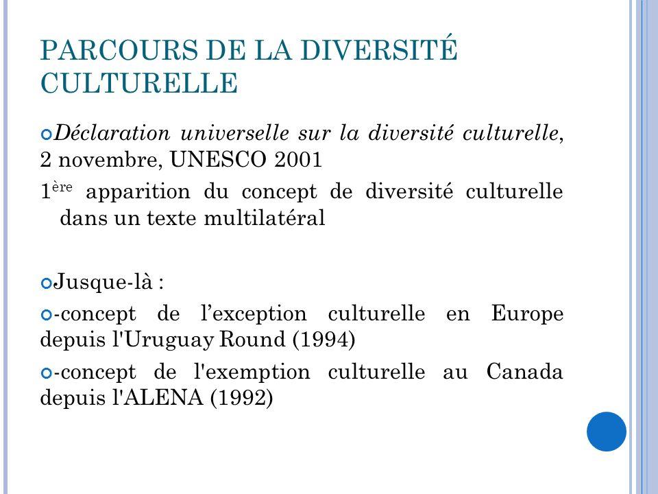 PARCOURS DE LA DIVERSITÉ CULTURELLE