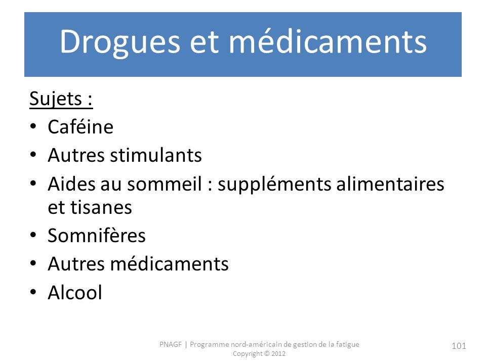 Drogues et médicaments