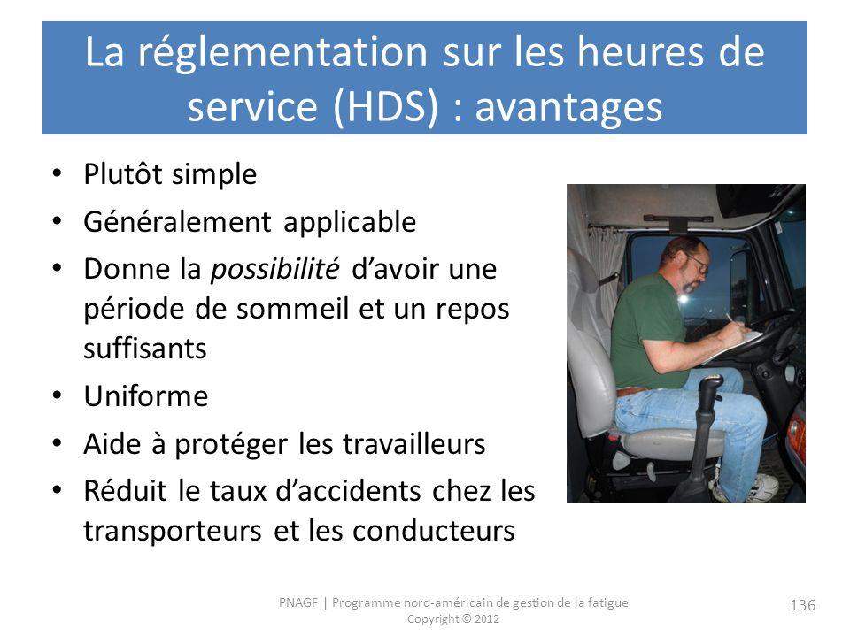 La réglementation sur les heures de service (HDS) : avantages