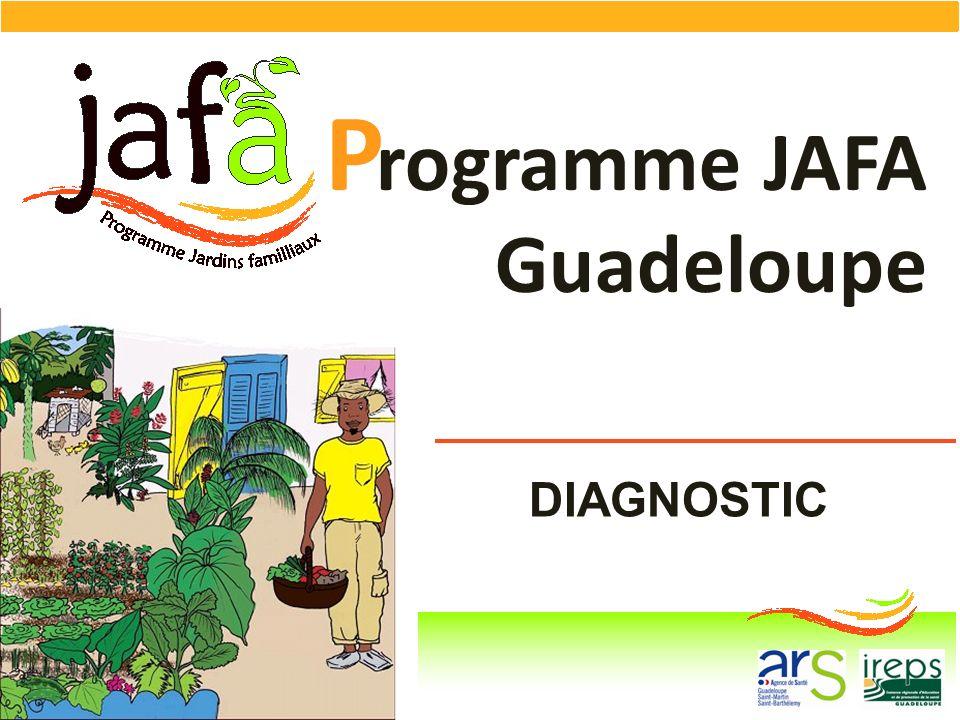 P rogramme JAFA Guadeloupe DIAGNOSTIC