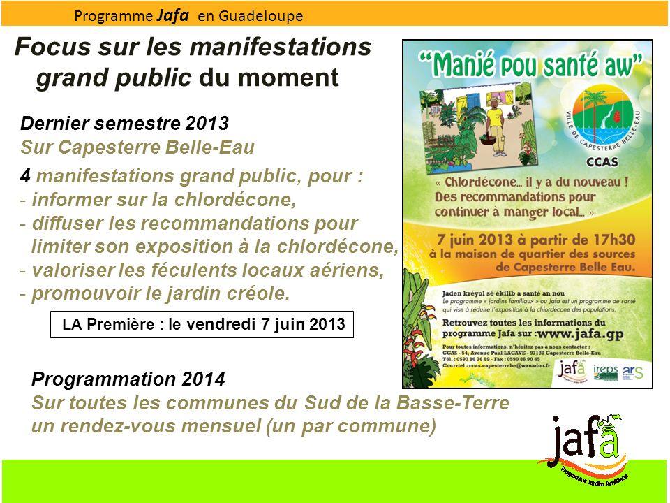LA Première : le vendredi 7 juin 2013