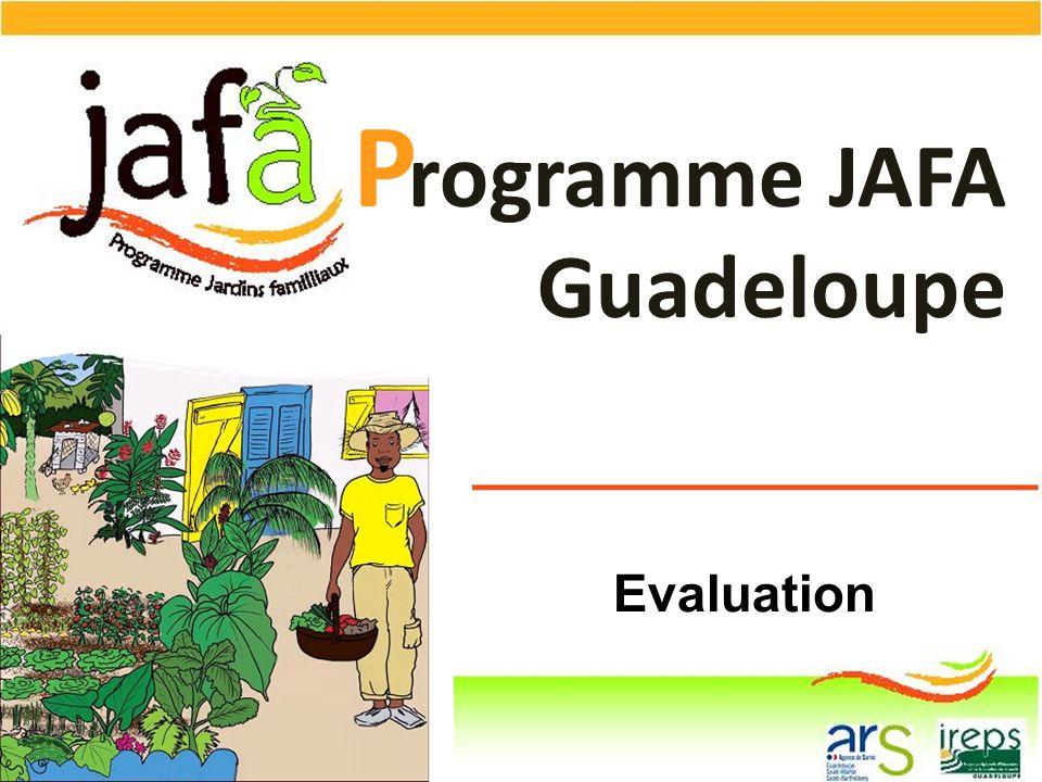 P rogramme JAFA Guadeloupe Evaluation