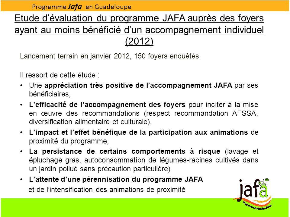Programme Jafa en Guadeloupe