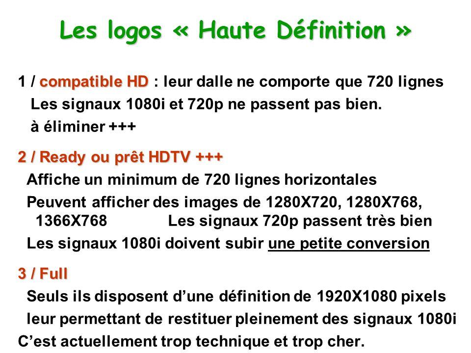 Les logos « Haute Définition »