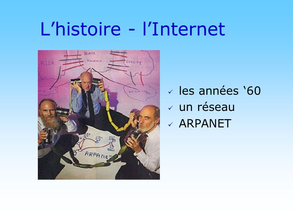 L'histoire - l'Internet
