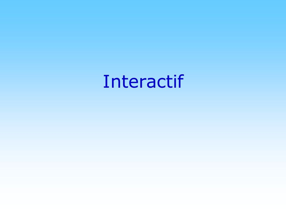 Interactif © DN
