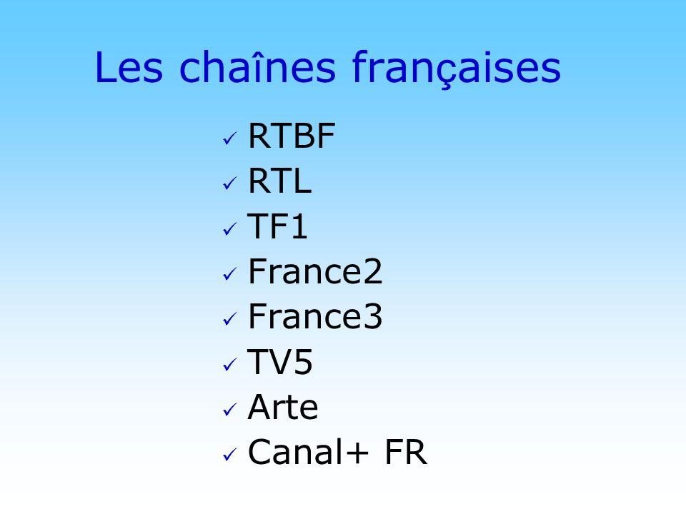 Les chaînes françaises