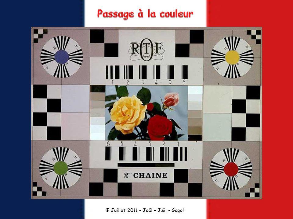 Passage à la couleur © Juillet 2011 – Joël – J.G. - Gogol