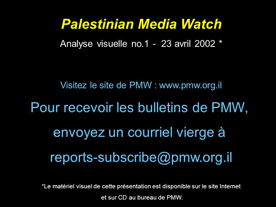 Palestinian Media Watch