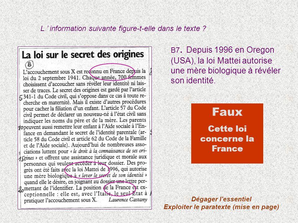 Exploiter le paratexte (mise en page)