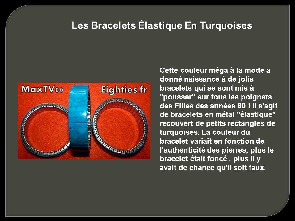Les Bracelets Élastique En Turquoises